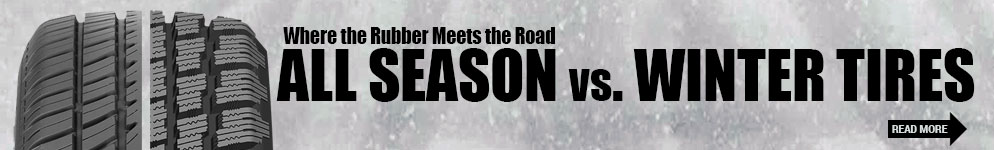 Where the Rubber Meets the Road All Season vs. Winter Tires