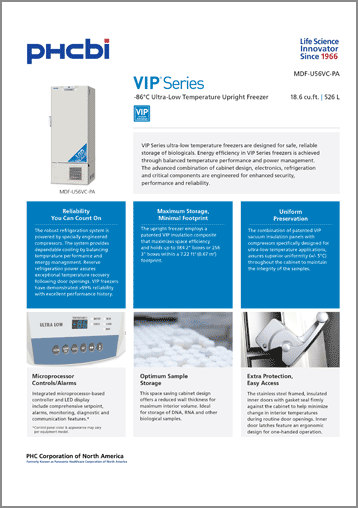 MDF-U56VC-PA Product Specification