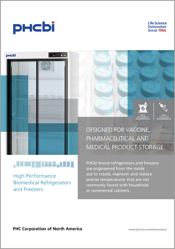 Designed for Vaccine, Pharmaceutical and Medical Product Storage