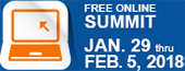 Free online summit - January 29 thru February 5, 2018