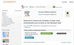 Journal of Marine Systems